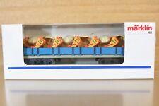 MARKLIN 1998 LONG BLUE CUXHAVEN WAGEN WAGON COACH RED SEAT SONDERMODELL