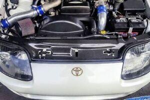 Radiator Cooling Panel Cover Toyota 93-98 Supra MK4 JZA80 Carbon Fiber Full Size