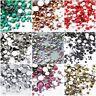 720p Mix Size Nail Art Rhinestones Glitter Diamond Crystal Gems Tips Decoration