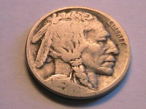 1915-D Buffalo Nickel Nice Very Good (VG) Original Tone Indian Head 5C USA Coin