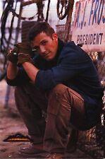 MOVIE POSTER~Armageddon Ben Affleck Squatting 1998 Original Film Sheet B Willis~