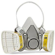 3M 6300 Half Face Respirator W/ 3M 6006 Multi Gas/Vapor Cartridge, Size: LARGE