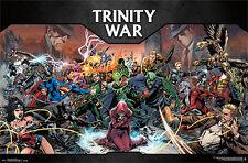 DC Comics poster trinity était + 1 gratuit ü-poster