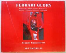 FERRARI GLORY SINGLE-SEATERS VICTORIES 1948-2000 Gianni Cancellieri Car Book