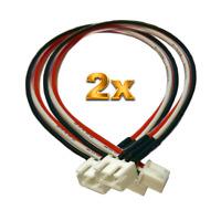 2x 2S Balancer Verlängerung Ladekabel JST-XH 30cm Lipo Akku 7,4V Balancerkabel