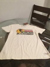 NWT Chicago Blackhawks Mitchell & Ness T-Shirt Women's XL Brand New With Tags!!!