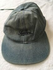 Supreme Denim Hat Fitted Large