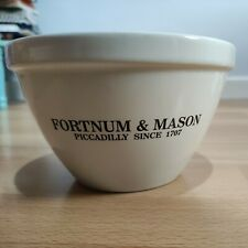 More details for fortnum & mason pudding bowl 16cms white christmas cooking simple piccadily 1707