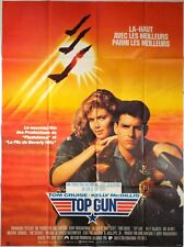 Affiche cinéma TOP GUN Tom Cruise Kelly McGillis Val Kilmer 120 x 160 cm