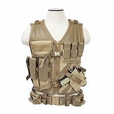 VISM by NcSTAR TACTICAL VEST/TAN  M-XL