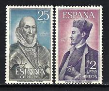 Spain 1966 Yvert n° 1364 et 1365 Celebrities new 1st choice
