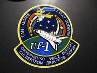 "NASA STS-108 UF-1 Space Shuttle Mission Sticker 4.75"" laptop skateboard decal"