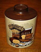 """Vintage Ransburg Tin/Bakelite Canister 9"""""""