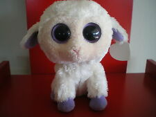 Ty Beanie Boos CLOVER the sheep 6 inch NWMT. UK version. Retired & hard to find.