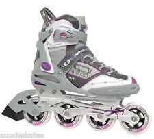 RDS Aerio Q-60 Ladies Inline Roller Skates Rollerblades Blades RRP$199 US Size 7