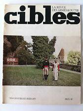 CIBLES n°64 du 02/1975; La Fabrique de Herstal/ Pistolet TOZ 35/ Saisies Douanes
