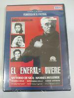 Il Generale La Rovere Roberto Rossellini DVD + Lamine Spagnolo Italiano Nuovo 2T