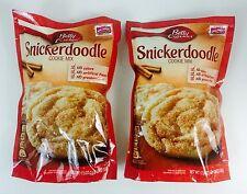 2X BIG Packs Seasonal Edition Betty Crocker Snickerdoodle Cookie Mix 17.9oz