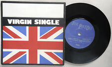"Sex Pistols God Save The Queen 7"" single in rare Virgin Union Jack Promo Sleeve"