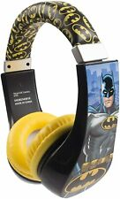 Batman Over the Ear Headphone Kid Safe with Volume Limiter