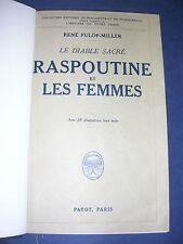 Russie Raspoutine et les femmes Belle reliure Payot 1928