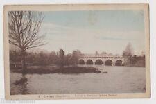 """CPA """" CERIZAY - Pont de la Branle sur la Sèvre Nantaise"""