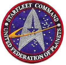Star Trek Star Fleet Command Lost in Space Cartoon Embroidery Iron on Patches