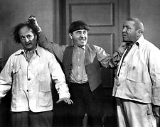 The Three Stooges  Larry Moe Curly 11 x 14 Poster Photo Picture