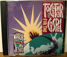 MARANATHA MUSIC Together For The Gospel cd MARCH FOR JESUS RARE OOP MINT
