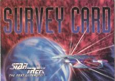 Star Trek TNG Season 2  -   Survey Card