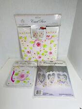 Wedding Creative Expression Dena Design Pink Garden Card Box~Centerpiece~Banner