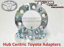 """2 Pc Toyota 1.5"""" Thick Hub Centric Wheel Spacers - Tacoma Tundra 4 Runner"""