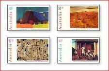 AUS647 Australian artists painting 4 pcs.
