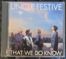 Uncle Festive / That We Do Know (LIKE NW CD) Luis Conte, Tower of Power, Whalum