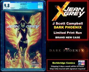 🔥 JEAN GREY 1 CGC 9.8 👀 LOOK X-MEN 101 134 FANS: CAMPBELL DARK PHOENIX VARIANT