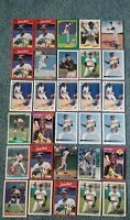 Jose Lind Baseball Card Mixed Lot approx 75 cards