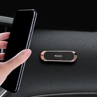 GOLD Strip Shape Magnetic Car Phone Holder Stand Magnet Mount Mini Universal*1