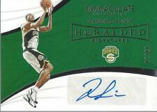 2018-19 Immaculate Collection Heralded Signatures #9 Rashard Lewis Auto /99