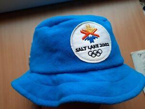 2002 SALT LAKE CITY USA OLYMPIC GAMES SLOVENIA OLYMPIC TEAM HAT CAP FUN OLYMPIAD