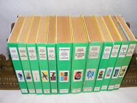Lot de 12 livres JULES VERNE 15 romans Bibliotheque verte années 60's 70's