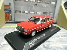 MERCEDES BENZ W123 Limousine 230TE E-Klasse T red rot 1982 Minichamps 1:43