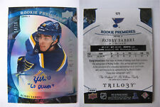 2015-16 UD Trilogy #171 Robby Fabbri 14/15 level 3 true RC auto rookie HOT rare