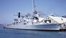 ROYAL NAVY TYPE 82 DESTROYER HMS BRISTOL AT PORTSMOUTH