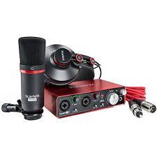 Focusrite Scarlett Studio 2i2-Complete Recording Package for Musicians (2nd Gen)