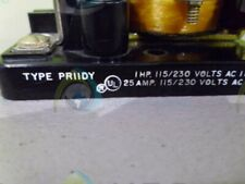 POTTER & BRUMFIELD PR11DY RELAY *USED*
