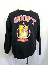New listing Vintage The Cotton Exchange Mens Size Xl Black Disney Goofy Sweatshirt Made Usa