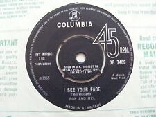 RON & MEL I'm In A Shabby Little Hut N/Mint Columbia 1965 UK 7""