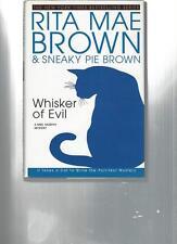 RITA MAE BROWN & SNEAKY PIE BROWN - WHISKER OF EVIL