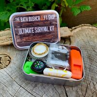TBBS ULTIMATE EMERGENCY/SURVIVAL KIT IDEAL FOR DOFE BUSHCRAFT SURVIVAL SCOUTS SI