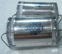 4pcs 30KV 3000pF DC High Voltage Condenser Capacitor for Marx generator HV Ham